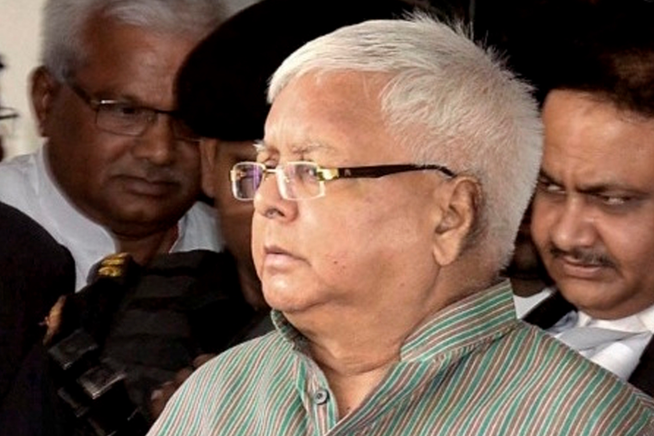 Delhi court grants interim bail to Lalu in IRCTC case