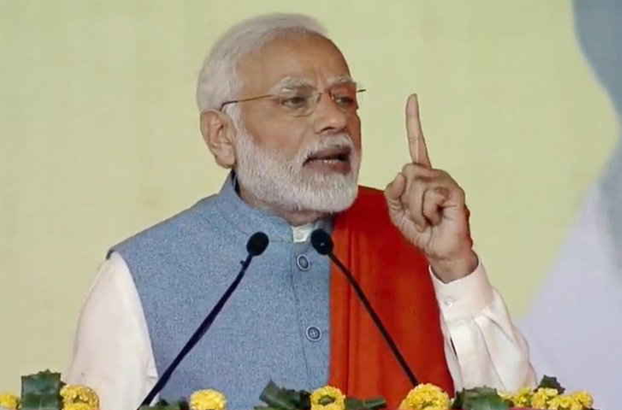 Congress cheating farmers in name of loan waivers: Modi
