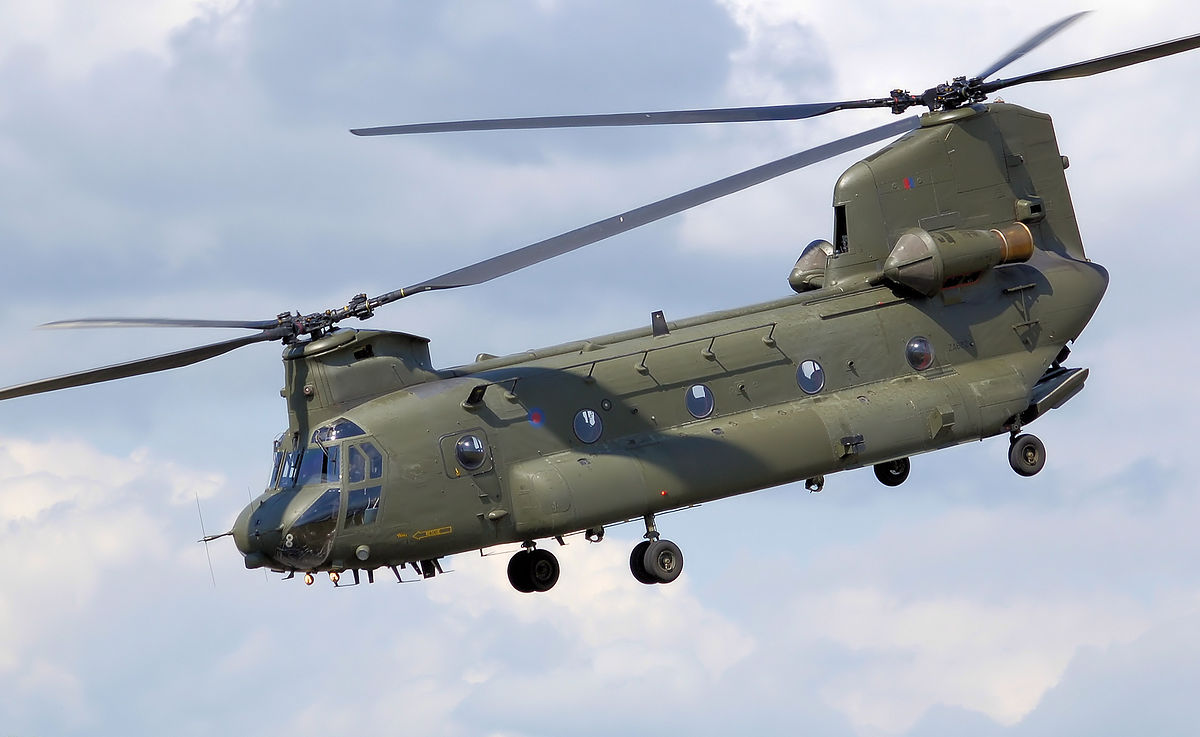 Chinook-helicopters