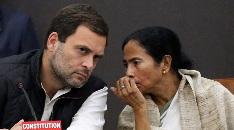 Rahul gandhi-Mamata Banerjee