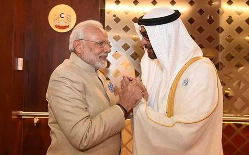 Pm Modi-Zayed