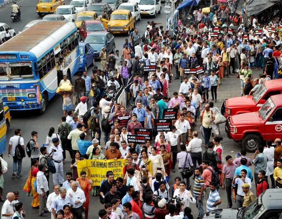 Kolkata strike