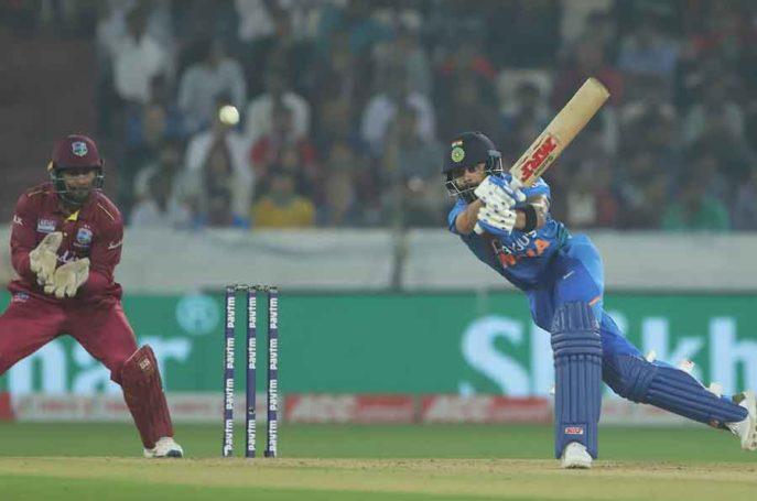 Virat Kohli-Hyderabad T20I