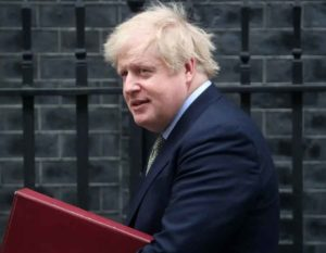 Boris Johnson's condition improving, UK PM sitting up now