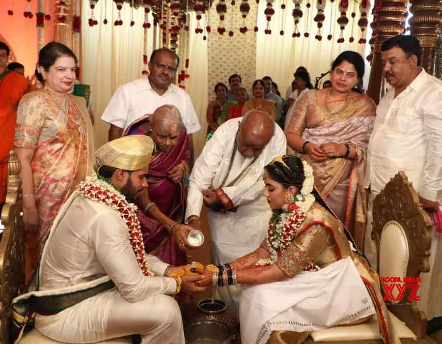 DeveGowda-grandson-wedding