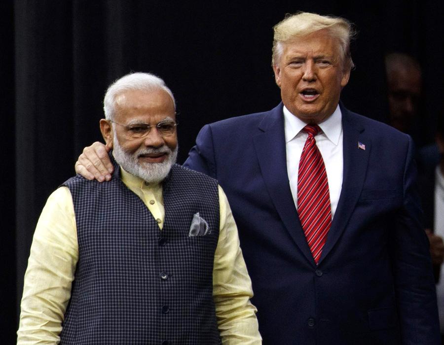 Modi-Trump-India