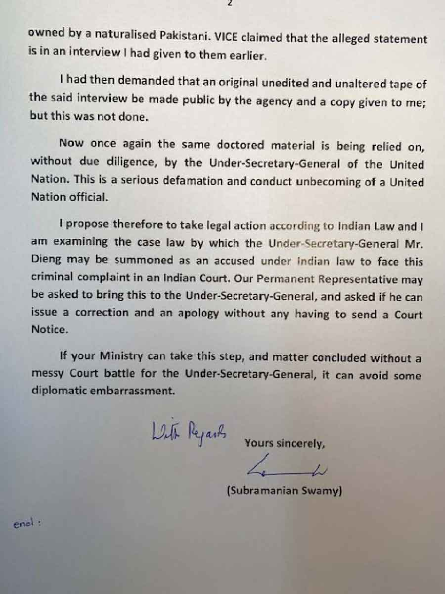 Swamy_letter