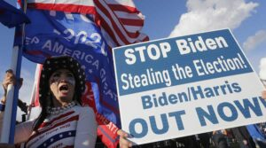 'Stop the steal': Trump supporters refuse to accept defeat at the hands of Biden